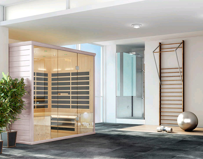 sauna infra rouge tylo royan sme eau et bains. Black Bedroom Furniture Sets. Home Design Ideas